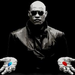 Morpheus red pill blue pill